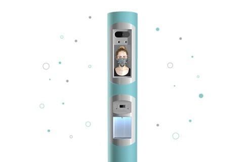 Voilàp Digital: Colonnes de distributeur assainissantes