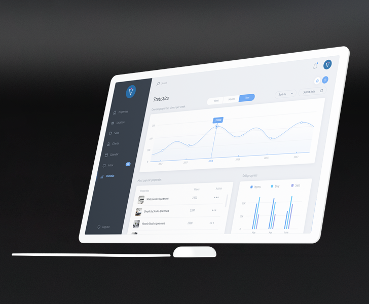 Voilàp Digital: Sight Essential Slider Business Intelligence